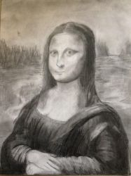 Mona Lisa In Pencil by Xx-Vintage-Girl-xX