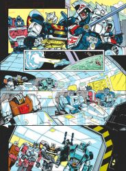 Transformers Generations 2011 vol.2 - comic page 2 by GuidoGuidi