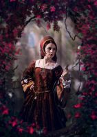Medieval lady by LenaSunny