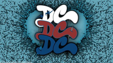 DC Vector Wallpaper by RedAndWhiteDesigns