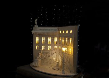 The Little match girl Book Sculpture 2 by KarineDiot