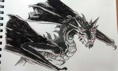 Inktober 2015 01 by mistermoster