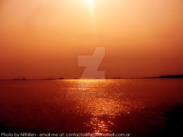 A simple water picture by nithilien