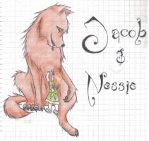 Jacob and Nessie by h4e