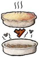 2 pies by Werxzy