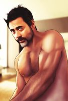 Jeffrey Dean Morgan by viveranimes