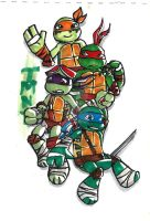 TMNT by KatanaBerry