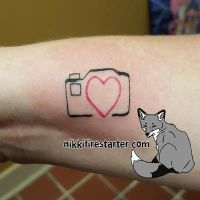 Camera Tattoo by NikkiFirestarter