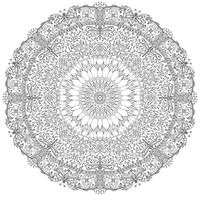 Garden Mandala by WelshPixie