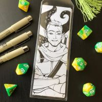 Critical Role Bookmark: Fjord by callyanncreates