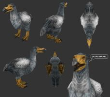 Carnivores Ice Age - Dodo Mesh by Poharex