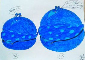 Sassy's Blueberry inflation p16-17 by mj455
