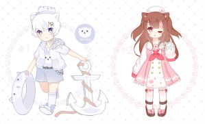 [CLOSED] Auction - Sailor Kemonomimi (1/2) by Shika-Adopts