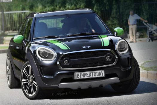 Mini Countryman F60 by DejanHristov