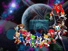 Sonic X - New Season Wallpaper by CaptRicoSakara
