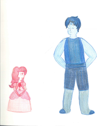 Cars Gems- Dumortierite/Doc and Rose Sapphire/Alic by Pixargirl