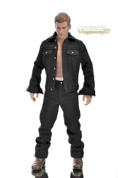 1/ 6 scale baggy rapper jeans pants and jacket by Hegemony77