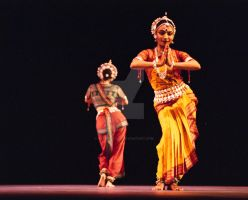 Classical Indian Dancers by nanmelville