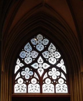 church window by clandestine-stock
