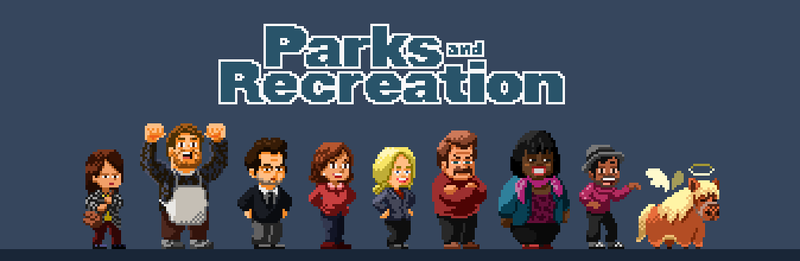 A tribute to Parks and Rec (Animated) by bbrunomoraes