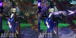 Altofaro Comparison Before and After by NevanGoth