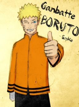 Ganbatte, Boruto! by theothersophie