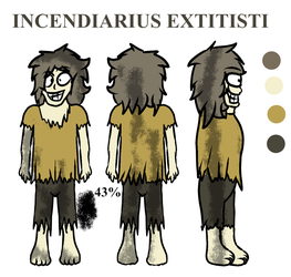 Incendiarius Extitisti reference drawing by MarcosVargas