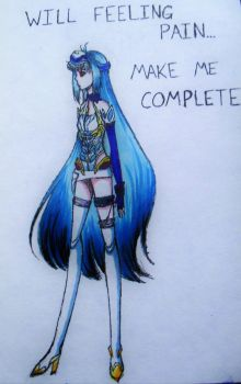 -old Xenosaga fanart- KOS-MOS [Copic] by Demon-Seahorse