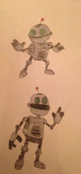 My drawings of Clank by Prince5s