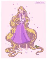 Tangled, princess Rapunzel - Disney collection by ariartna