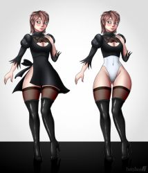 Moddie's 2B outfit by FunkyBacon