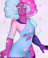 Cotton Candy Garnet! by PaoVuante