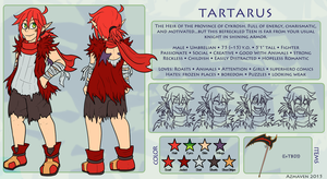 Tart Reference by Sanguynn