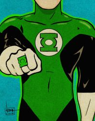 Nostalgic series - Green Lantern! by ArtNomad