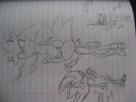 Sonic!! The Three Badass Hedgehogs by Staticth1