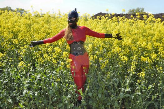 Latex Model - In a Field of Yellow by LatexModel
