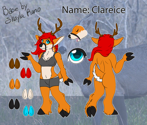 clareice Ref sheet by holyhell111