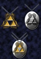 triforce locket by Darla-Illara
