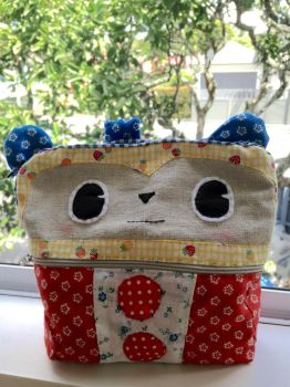 Teddie pouch by FlorisaLilac