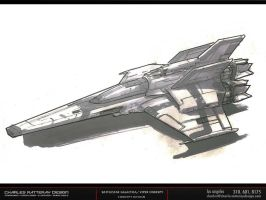 BATTLESTAR GALACTICA_01 by CHARLESRATTERAY