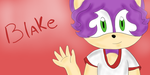 BLAKE THE HEDGEHOG by NanaMariana22