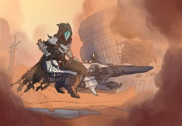 Destiny - Hunter - 02 by jdeberge