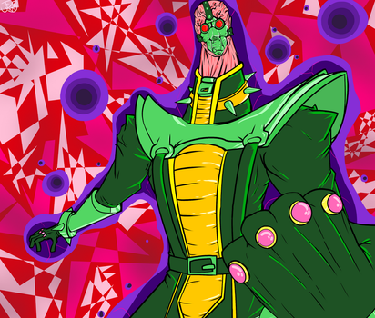 SUPER PSYCHIC ANDROID! - JINZO! by Carbonated-James