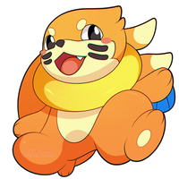 ChibiDex: #418 Buizel by SeviYummy