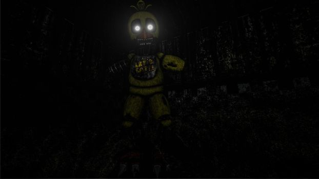 Ignited Chica by RedstoneCommands