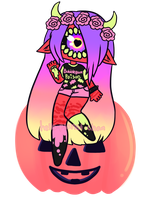[Pumpkin] - KyaKlutz by hello-planet-chan