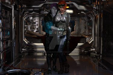 Space Squadron Cadet Lovers 02 by gadgetanorakprime