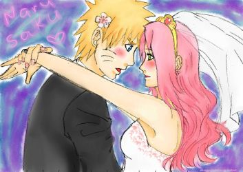 narusaku_wedding_day___by_shannarotebayo