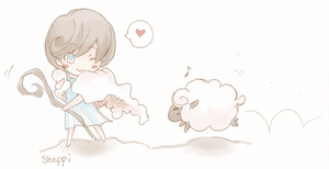 Sheppi with sheep by Petshop17