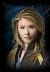 Jewel Staite by missimoinsane